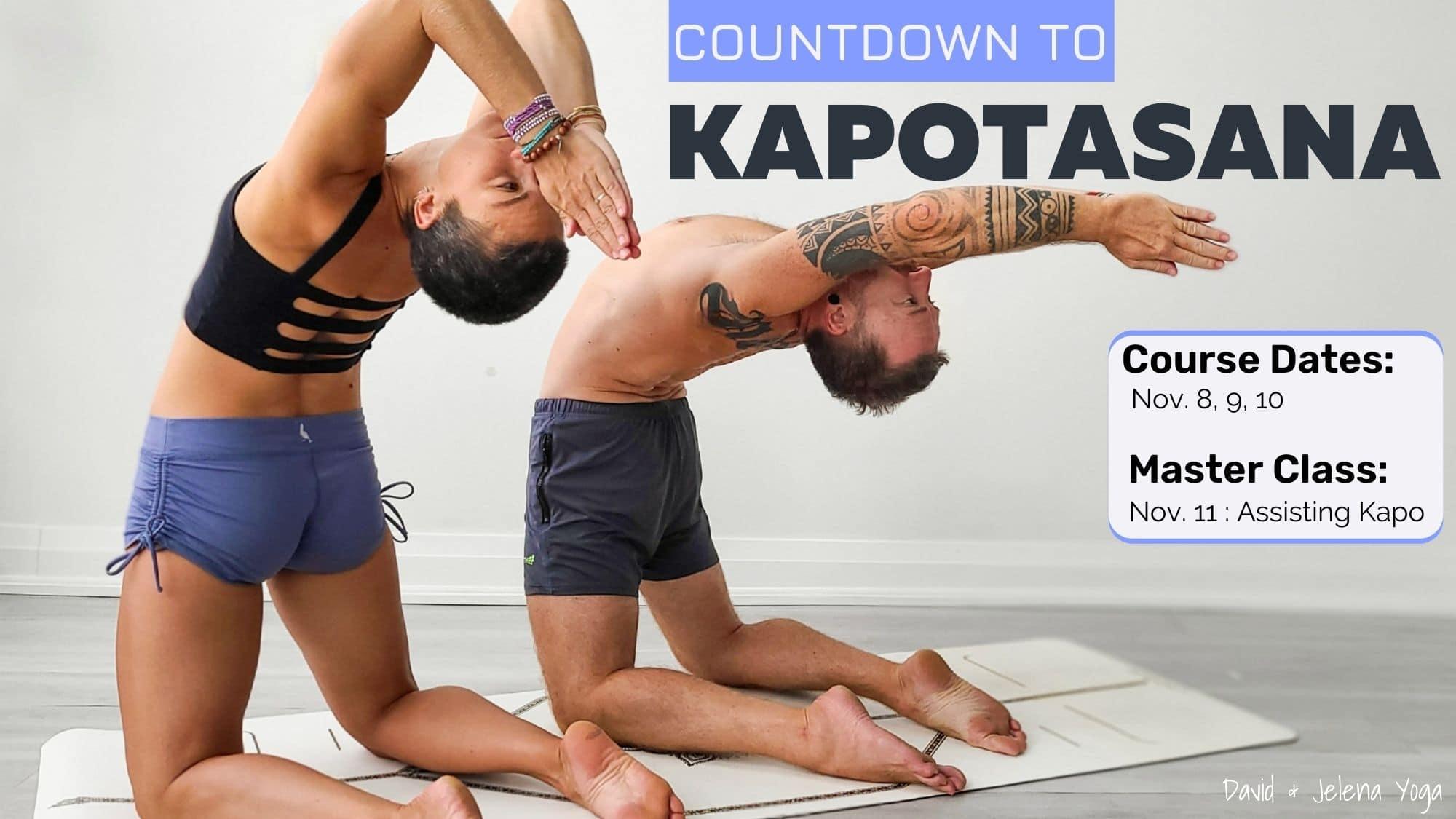 Countdown to Kapotasana - Web