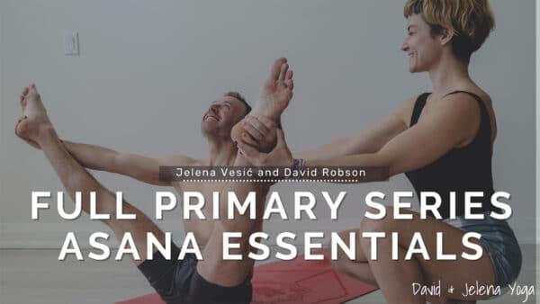 David Robson and Jelena Vesic teach Full Primary Series Asana Essentials